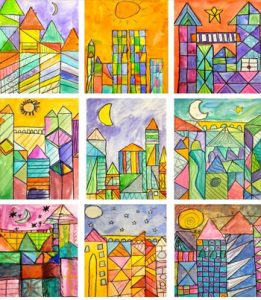 how-to-draw-castles-using-klee-style