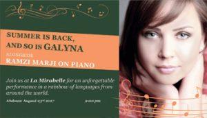 galyna-live-at-la-mirabelle