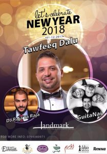 tawfeeq-dalu-new-year-2018-party-landmark-hotel-amman
