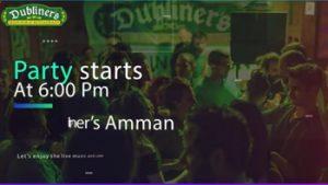 st-patrick-event-dubliners-irish-pub-restaurant-amman