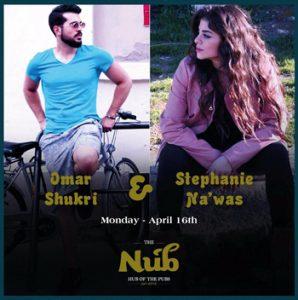 Omar Shokri live at the nub stephani nawas live at the nub