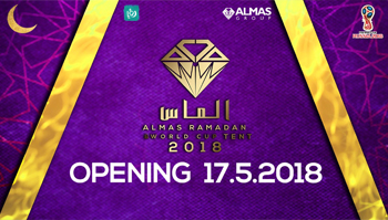 Almas ramadan and world cup tent 2018