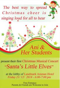 santas-little-elves-christmas-musical-concert-landmark-amman-hotel