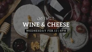 wine-cheese-at-district