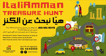 ItaliAmman Treasure Hunt 2019