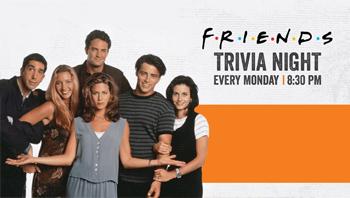 Friends Trivia Night @ Buffalo Wings & Rings Jordan / 7th Circle